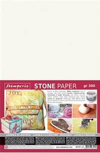 Bilde av Stamperia - Stone Paper - A4 - 1 ark