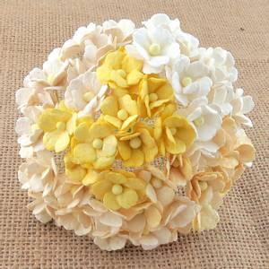 Bilde av Flowers - Sweetheart Blossom - SAA-354 - Mixed White & Cream