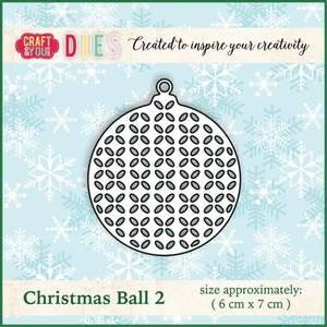 Bilde av Craft & You - Dies - CW011 - Christmas Ball 2