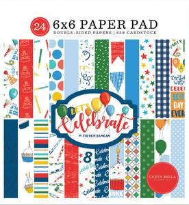 Bilde av Carta Bella - Let's Celebrate - 6x6 Paper Pad