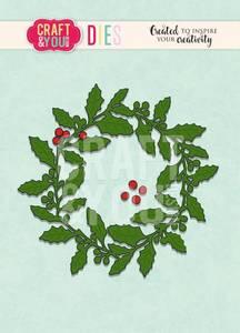 Bilde av Craft & You - Dies - CW090 - Holly Wreath