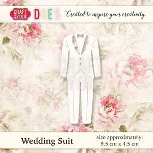 Bilde av Craft & You - Dies - CW022 - Wedding Suit