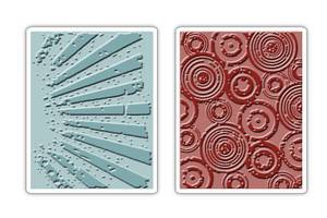 Bilde av Sizzix - Texture Fades - A2 - 656650 - Rays & Retro