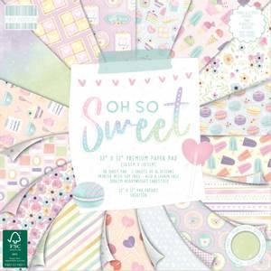 Bilde av First Edition - 227 - 12x12 Paper Pad - Oh So Sweet