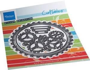 Bilde av Marianne Design - Craftables dies - CR1548 - Gears Doily