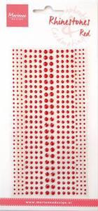 Bilde av Marianne Design - CA1359 - Rhinestones - Red