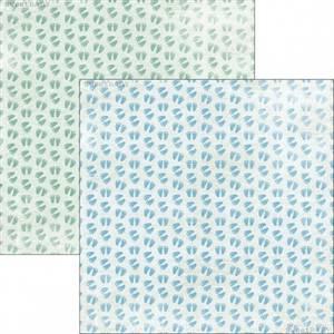 Bilde av Reprint - 12x12 - RP0303 - Sweet Baby - Blue Baby Feet