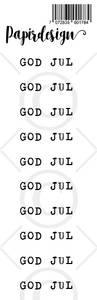 Bilde av Papirdesign - Transparent Stickers - 1900178 - God Jul