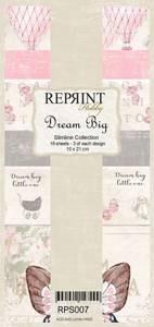 Bilde av Reprint - Slimline Paper Pack - RPS007 - Dream Big