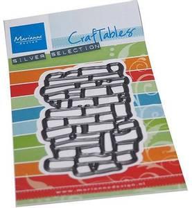 Bilde av Marianne Design - Craftables dies - CR1558 - Art Texture Bricks