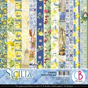 Bilde av Ciao Bella - 033 - 6x6  Paper Pad - Sicilia