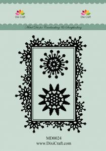 Bilde av Dixi Craft - Dies - MD0024 - Snowcrystal Frame